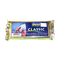 Darwi Seramik Hamuru 250 gr Beyaz DAR250W - Thumbnail