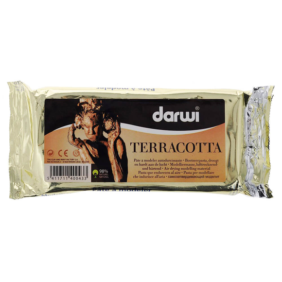 Darwi Terracota Seramik Hamuru 1000 gr DAR1000T