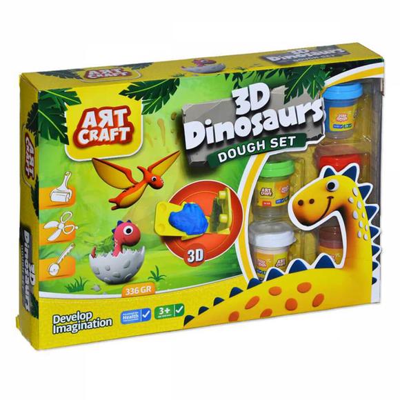 Dede 3 Boyutlu Dinozor Hamur Seti 3361