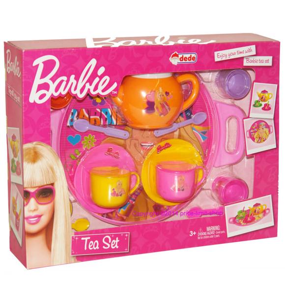 Dede Barbie Çay Seti Tepsili 01510