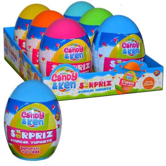 Dede Candy ve Ken Dev Sürpriz Yumurta 3392
