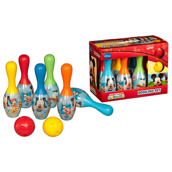 Dede Mickey Mouse Bowling Seti 01916