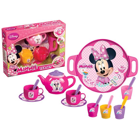 Dede Minnie Mouse Tepsili Çay Seti