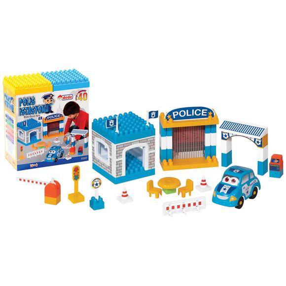 Dede Polis İstasyonu Yapı Blokları 40 Parça 01947