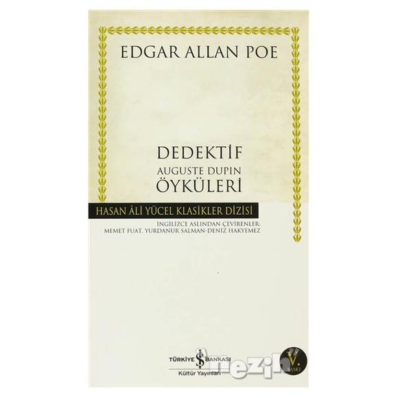 Dedektif Auguste Dupin Öyküleri