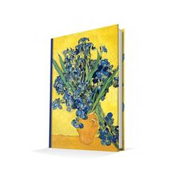Deffter Art Of Word Les Iris Van Gogh 14x20 Sert Kapak Çizgili - Thumbnail