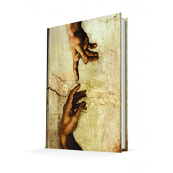 Deffter Art Of Word Michelangelo Creation Of Adam - Thumbnail