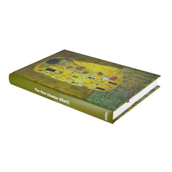 Deffter Art Of World Klimt Sert Kapak 14x20 cm Çizgili Defter 96 Yaprak 64683-7