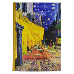 Deffter Art Of World Van Gogh Sert Kapak 14x20 cm Çizgili Defter 96 Yaprak 64682-0 - Thumbnail