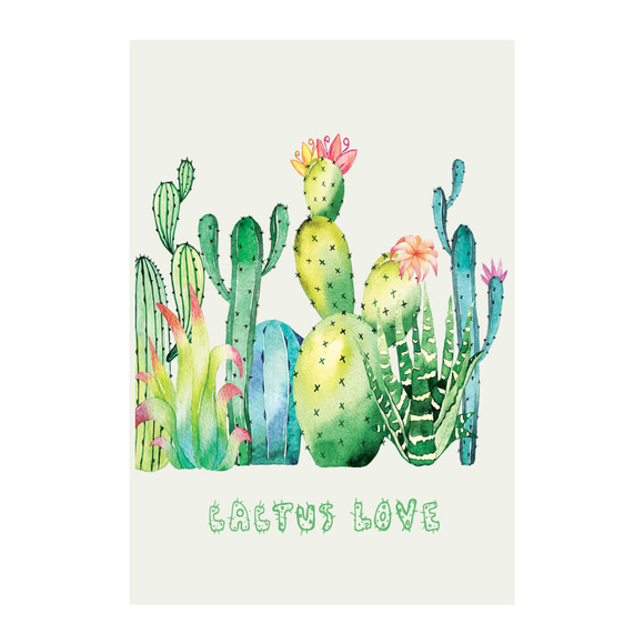Deffter Cactus Love Sert Kapak 64415-5