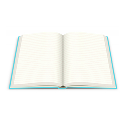 Deffter Her Aklına Geleni Yazma/Sert Kapaklı Çizgili 14x20 Cm - Thumbnail