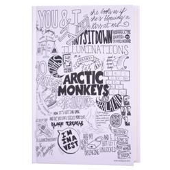 Deffter Music Of The Word Arctic Monkeys Çizgili Not Defteri 14x20 cm 64745-3 - Thumbnail