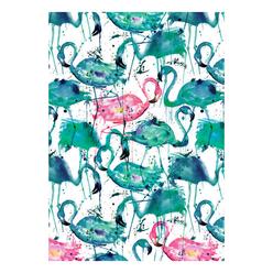Deffter Paradise Flamingos Sert Kapak 64418-6 - Thumbnail