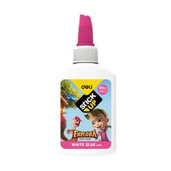 Deli Beyaz Tutkal Renkli Kapak 60 ml A75100 - Thumbnail