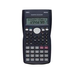 Deli Bilimsel Hesap Makinesi 240F-10+2 Digits D82MS - Thumbnail