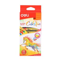 Deli ColorRun Yağlı Pastel 12'li 20200 - Thumbnail
