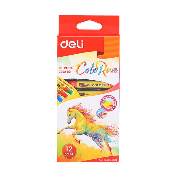 Deli ColorRun Yağlı Pastel 12'li 20200