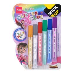 Deli Simli Yapıştırıcı Klasik Renkler 12 ml 6'lı A71101 - Thumbnail