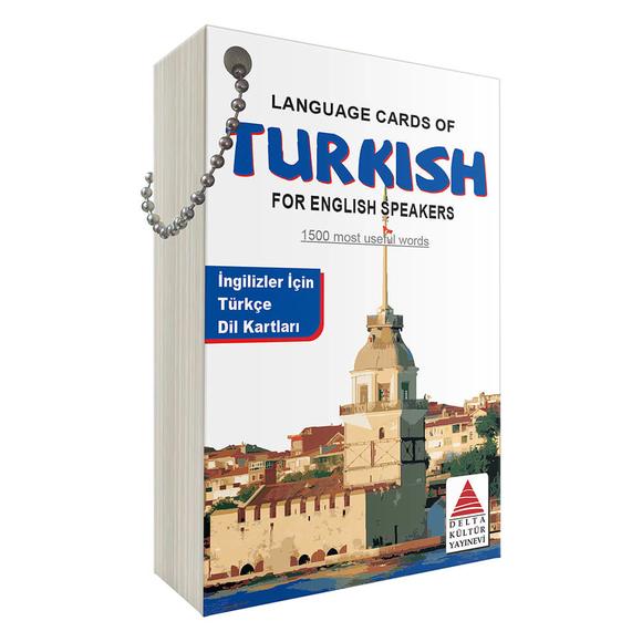 Delta İngilizler için Türkçe Dil Kartları 2019