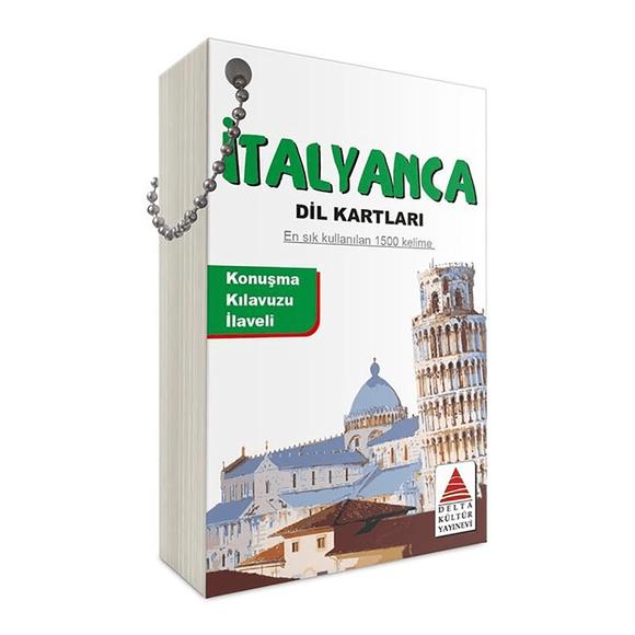 Delta İtalyanca Dil Kartları