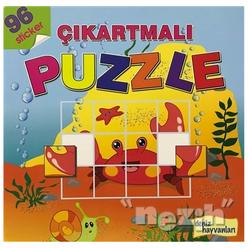Deniz Hayvanları - Çıkartmalı Puzzle - Thumbnail