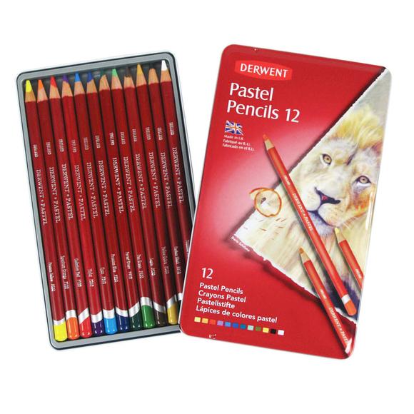 Derwent Pastel Boya Kalemi 12 Renk DW32991
