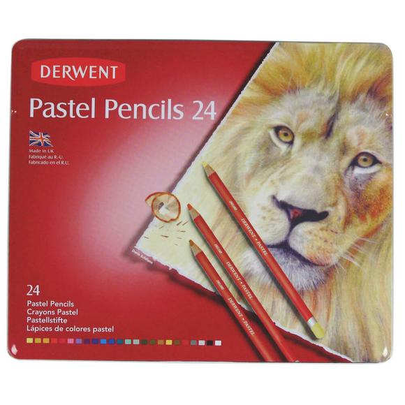 Derwent Pastel Boya Kalemi 24 Renk DW32992
