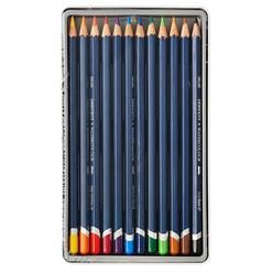 Derwent Watercolour Aquarell Boya Kalemi 12 Renk DW32881 - Thumbnail