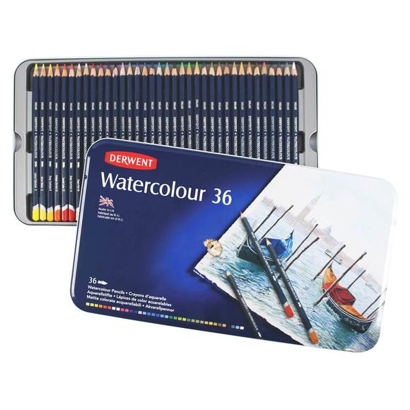 Derwent Watercolour Aquarell Boya Kalemi 36 Renk DW32885