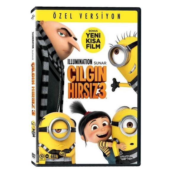 Despicable Me 3 - Çılgın Hırsız 3 - DVD