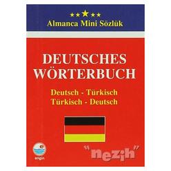Deutsches Wörterbuch - Almanca Mini Sözlük - Thumbnail