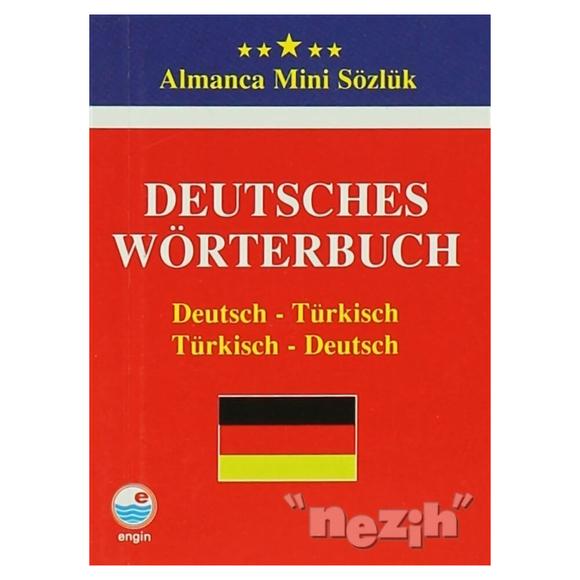Deutsches Wörterbuch - Almanca Mini Sözlük