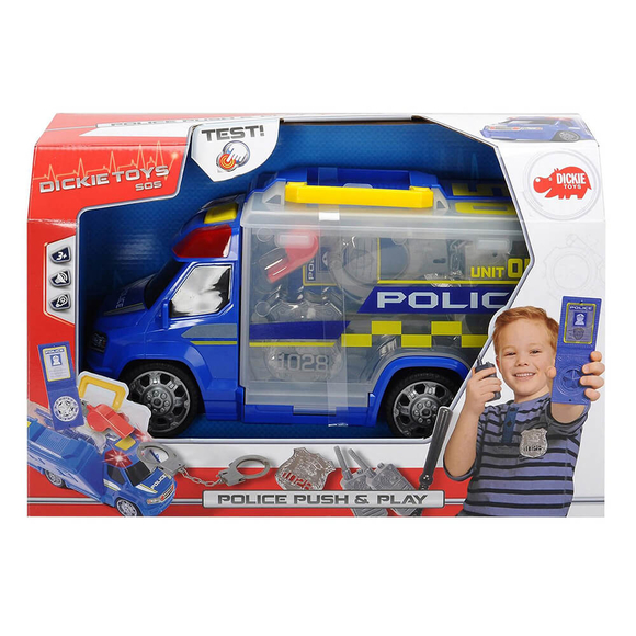 Dickie Police Squad Push Play 203716005