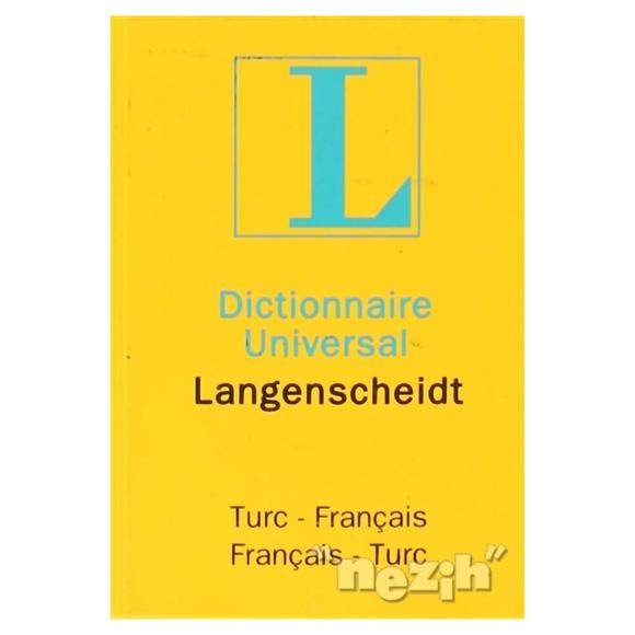 Dictionnaire Universal Langenscheidt Turc - Français / Français - Turc