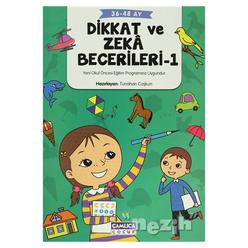 Dikkat ve Zeka Becerileri - 1 (36-48 Ay) - Thumbnail