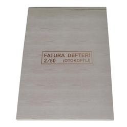 Dilman Fatura Defteri 2/50 Otokopili 3 Nüsha - Thumbnail