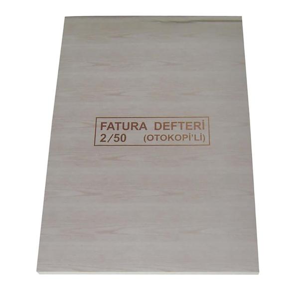 Dilman Fatura Defteri 2/50 Otokopili 3 Nüsha