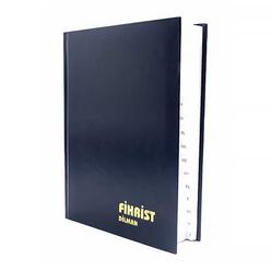 Dilman Fihrist 17x24 cm 12 Yaprak - Thumbnail