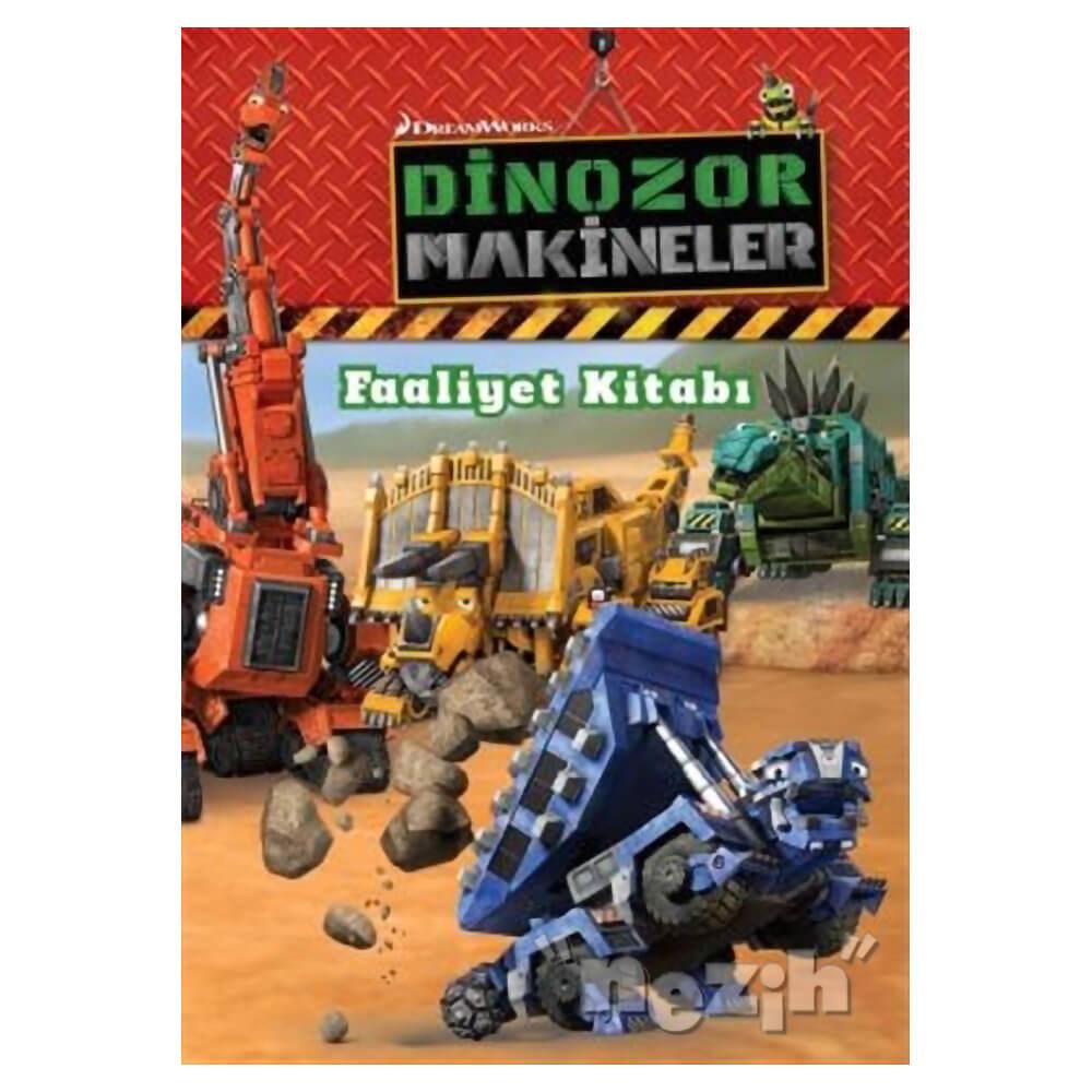 Dinozor Makineler Faaliyet Kitabi Nezih