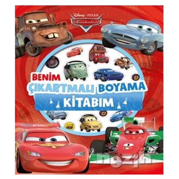 Disney Arabalar - Benim Çıkartmalı Boyama Kitabım