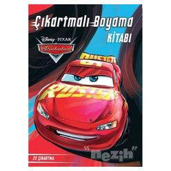 Disney Arabalar Çıkartmalı Boyama Kitabı - Thumbnail