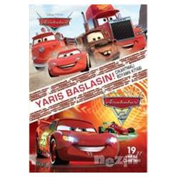 Disney Arabalar Yarış Başlasın Çıkartmalı Boyama Kitabı - Thumbnail
