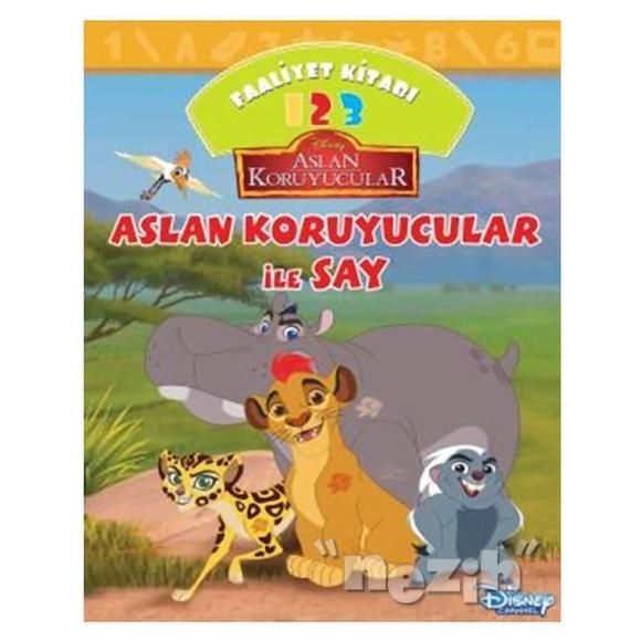 Disney Aslan Koruyucular İle Say Faaliyet Kitabı
