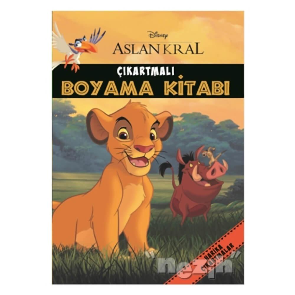 Disney Aslan Kral Cikartmali Boyama Kitabi Nezih