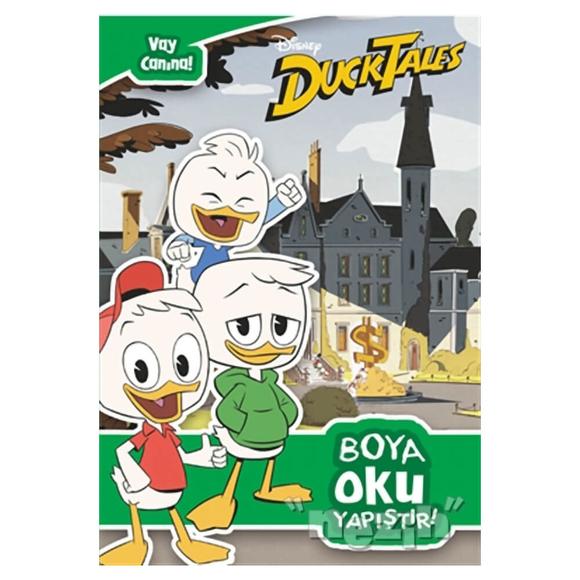 Disney Duck Tales - Boya Oku Yapıştır