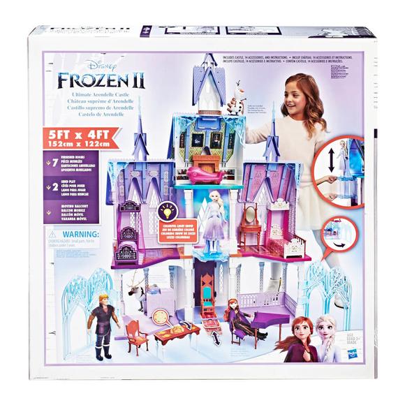 Disney Frozen 2 Işıklı Dev Arendelle Şatosu