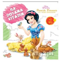 Disney İlk Boyama Kitabım - Pamuk Prenses - Thumbnail
