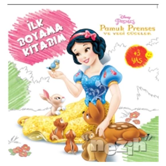 Disney İlk Boyama Kitabım - Pamuk Prenses