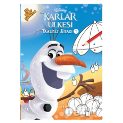 Disney Karlar Ülkesi Faaliyet Kitabı 1 - Thumbnail