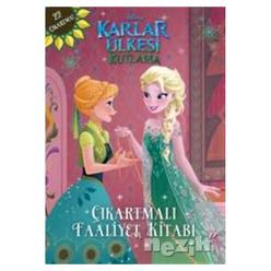 Disney Karlar Ülkesi Kutlama Çıkartmalı Faaliyet Kitabı - Thumbnail